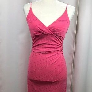 VTG Y2K 2000's City Triangles Pink Maxi Dress SM